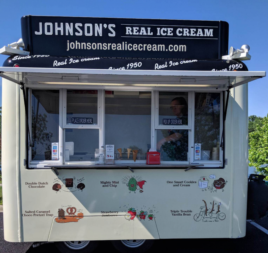 Johnson's Real Ice Cream Ice Cream Trailer, Columbus, Ohio