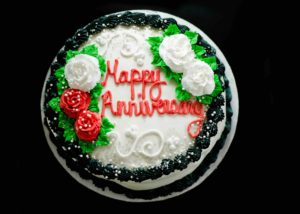 Ice Cream Cake Anniversary